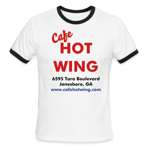 CHW Location Ring Tee - Men's Ringer T-Shirt