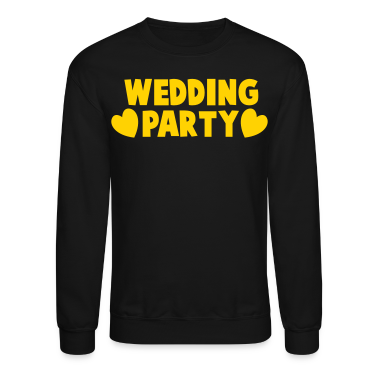 wedding party new cartoonist with love hearts Long Sleeve Shirts