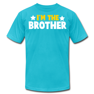 new i'm the brother family label design T-Shirts