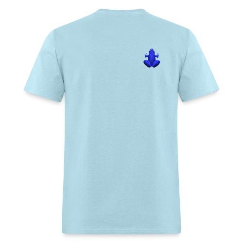 Blue frog - Men's T-Shirt