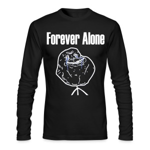 Forever Alone - Men's Long Sleeve T-Shirt by Next Level
