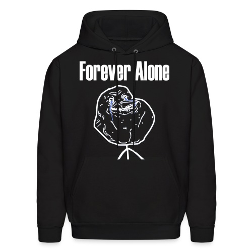 Forever Alone - Men's Hoodie