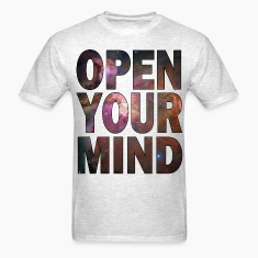 Open Your Mind - HD Design T-Shirts