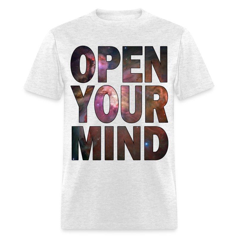 Open Your Mind Hd Design T Shirt Spreadshirt