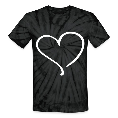 Share The Love - T-Shirt - Unisex Tie Dye T-Shirt