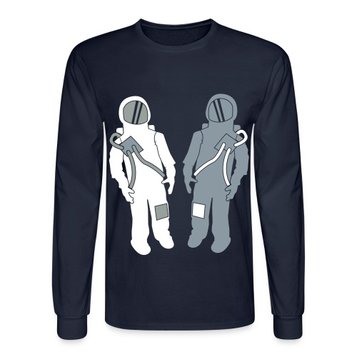 Space - Long Sleeve T-Shirt - Men's Long Sleeve T-Shirt