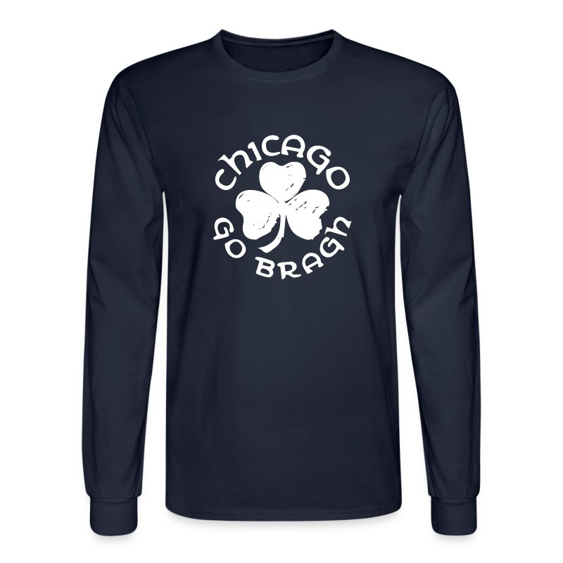 Chicago Go Bragh - Men's Long Sleeve T-Shirt