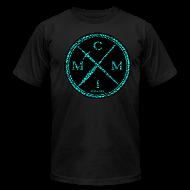 T-Shirts ~ Men's T-Shirt by American Apparel ~ MCMI PEN X SWORD ELEPHANT PRINT 002