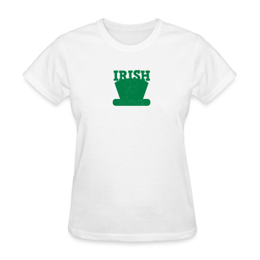 irish lover with top hat St Paddys day Women's T-Shirts