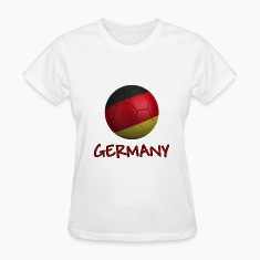 Team Germany FIFA World Cup Women's T-Shirts