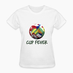 FIFA World Cup Fever II Women's T-Shirts