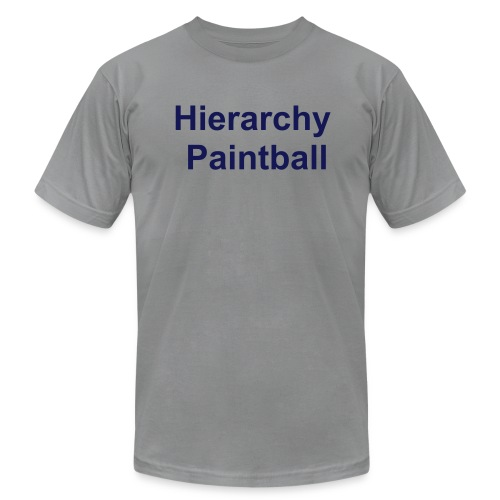 Hierarchy V.I.P Shirt (Grey V3) - Men's  Jersey T-Shirt