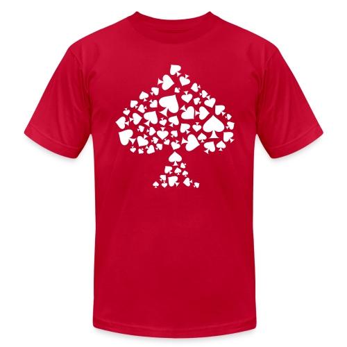 Spade - Dark - Men's Fine Jersey T-Shirt