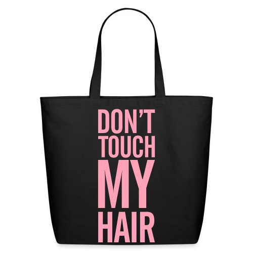 Don't Touch! - P - Eco-Friendly Cotton Tote