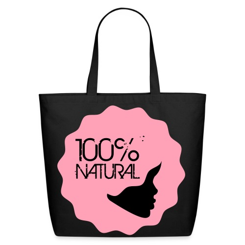 100% Natural! - P - Eco-Friendly Cotton Tote