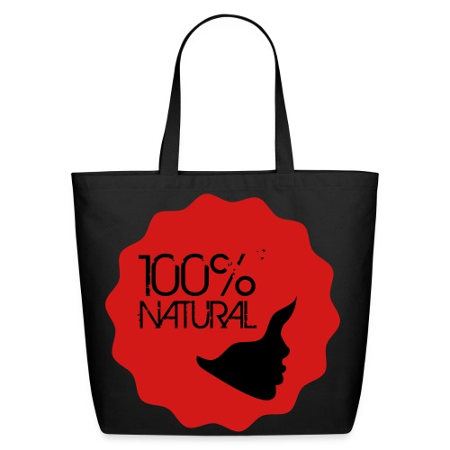 100% Natural! - R - Eco-Friendly Cotton Tote