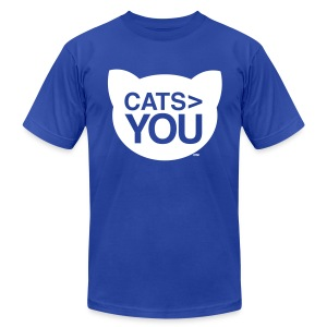 Cats  You - Men's T-Shirt by American Apparel