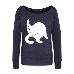 White Cat - Women's Wideneck Sweatshirt