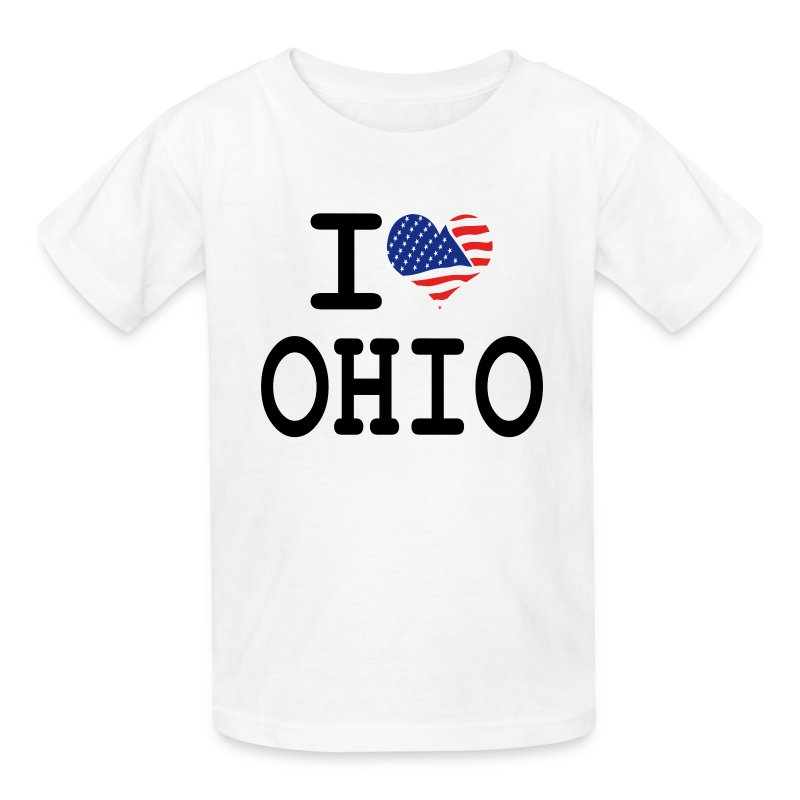 I love ohio t shirt spreadshirt for Ohio state t shirts for kids