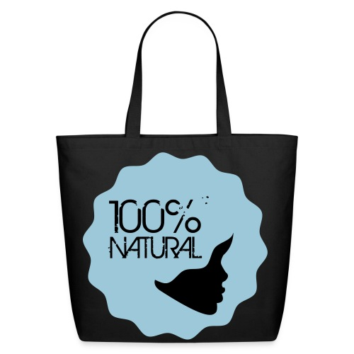 100% Natural! - B - Eco-Friendly Cotton Tote