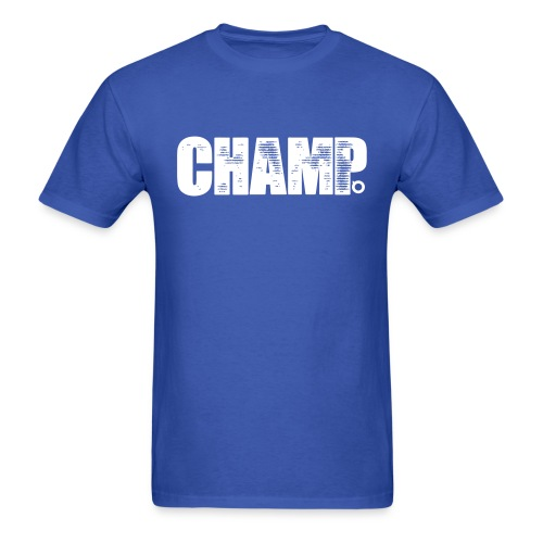 Champ V.3 (White Text) - Men's T-Shirt