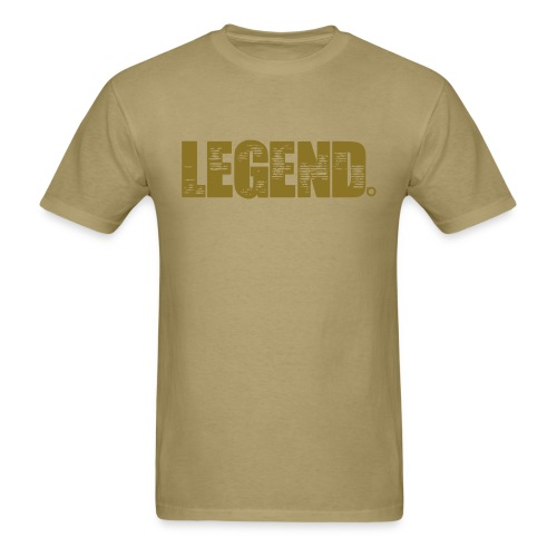 Legend (Gold Text) - Men's T-Shirt