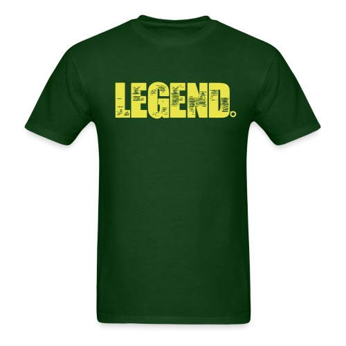 Legend (Yellow Text) - Men's T-Shirt