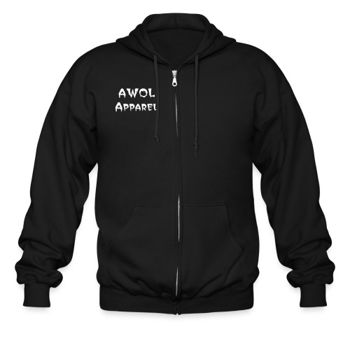AWOL Apparel Zip UP Hoody - Men's Zip Hoodie
