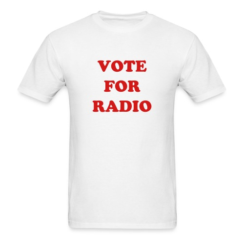 VOTE FOR RADIO 2 - Men's T-Shirt