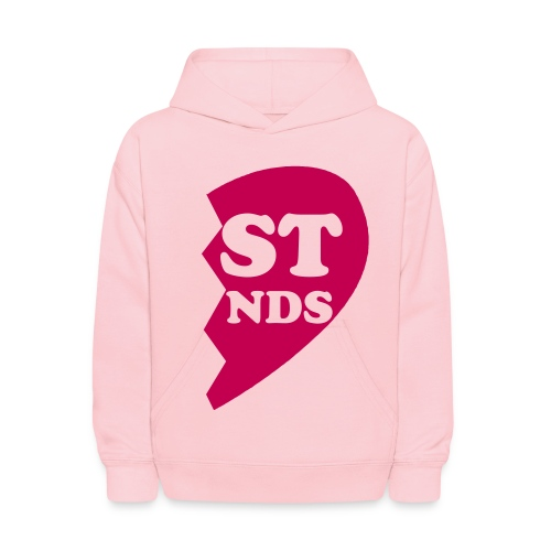 Half Heart 'Best Friends' - Kids' Hoodie