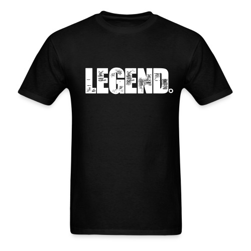 Legend (White Text) - Men's T-Shirt