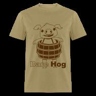 T-Shirts ~ Men's T-Shirt ~ Bare Hog Logo