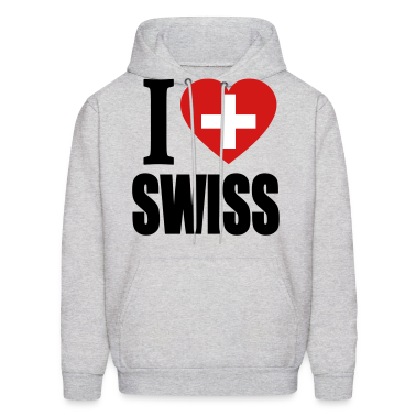 I Love Swiss Hoodies
