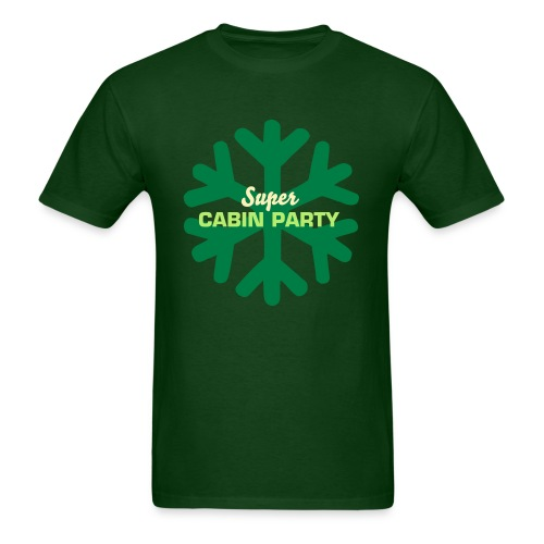 Men's Super Cabin Party T-Shirt  - Men's T-Shirt
