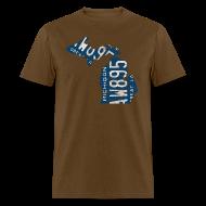 T-Shirts ~ Men's T-Shirt ~ Michigan Plate State