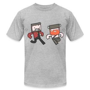 Superior Mens Tee: Hey Yogscast - Men's T-Shirt by American Apparel
