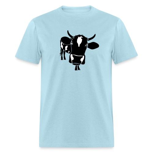 animal t-shirt cow bull ox milk farmer farm country cows dairy beef steak cook bbq - Men's T-Shirt