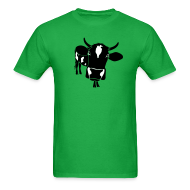 T-Shirts ~ Men's T-Shirt ~ animal t-shirt cow bull ox milk farmer farm country cows dairy beef steak cook bbq