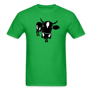 animal t-shirt cow bull ox milk farmer farm country cows dairy beef steak cook bbq - Men's T-Shirt