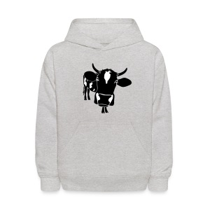 animal t-shirt cow bull ox milk farmer farm country cows dairy beef steak cook bbq - Kids' Hoodie