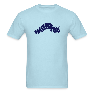 caterpillar worm snake hungry butterfly maggot grub crawler inchworm looper T-Shirts