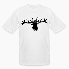 wild stag deer moose elk antler antlers horn horns cervine hart bachelor party night hunter hunting T-Shirts