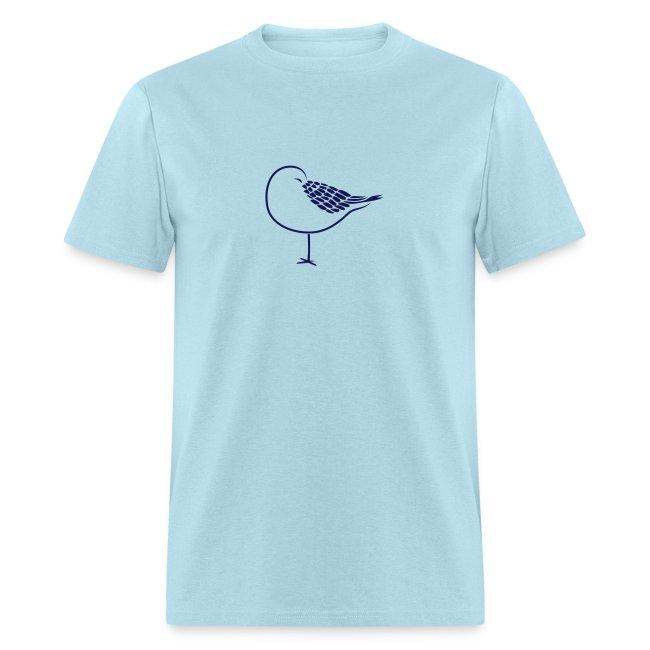 animal t-shirt sleeping bird early dove wings seagull feather sleep