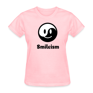 Smiley Yin Yang Icon 2c Women's T-Shirts