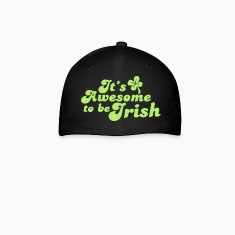 IT's AWESOME to be IRISH St Patricks day design Caps