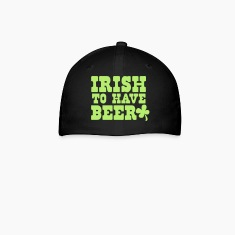 IRISH to have BEER with shamrock St Patricks Design Caps