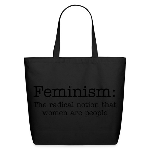 Feminism - Eco-Friendly Cotton Tote