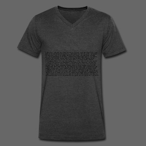 Men's V-Neck T-Shirts by Canvas - Men's V-Neck T-Shirt by Canvas