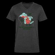 T-Shirts ~ Men's V-Neck T-Shirt by Canvas ~ Men's V-Neck T-Shirts by Canvas