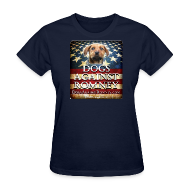 T-Shirts ~ Women's T-Shirt ~ Official Dogs Against Romney Women's Tee